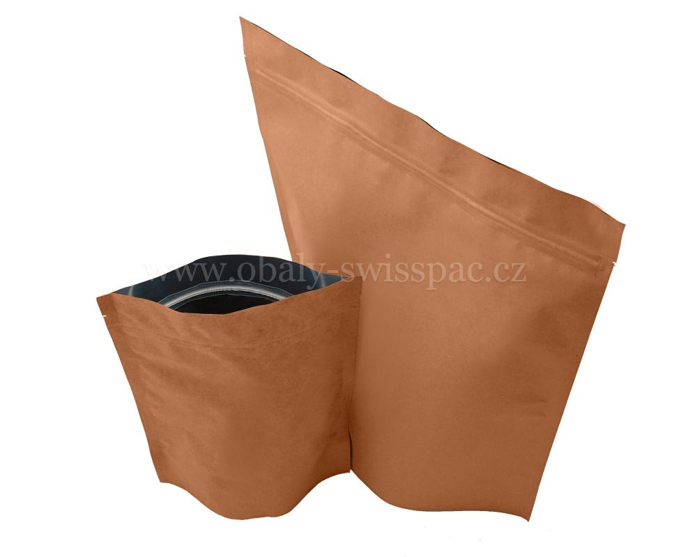 Hnědé papírové tašky