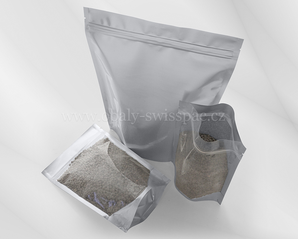 Čiré / matné stříbro