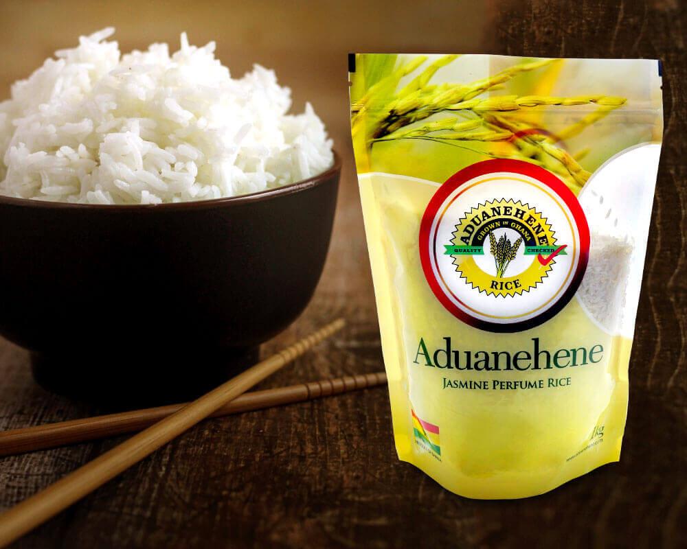 balení rýže